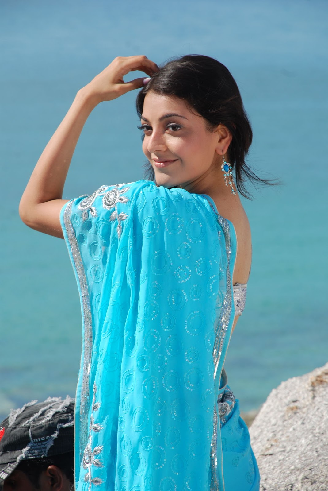 Kajal Agarwal Latest Hot And Cute Photo Stills At Beach In -6344