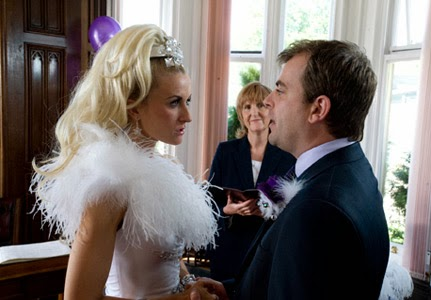 Coronation Street Blog Readers Have Voted For The Wedding Of Steve Mcdonald And Becky Granger As Their Favourite 232 49 21 12