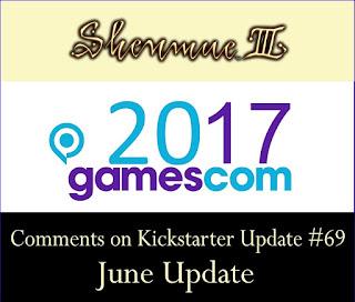 Comments on Kickstarter Update #69