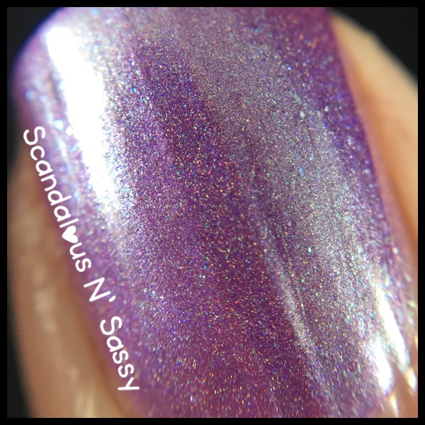 Sweet Heart Polish - I've Got a Dream macro - the Tangled Trio