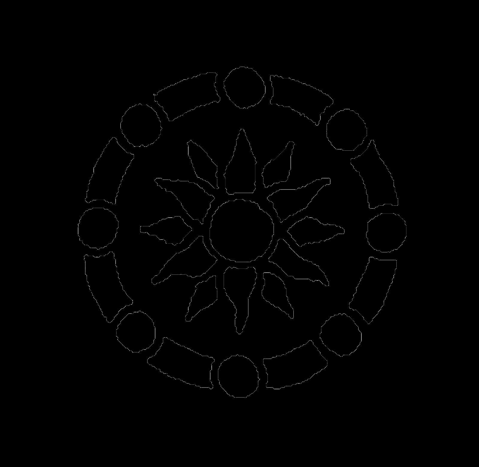 digital stamp design  traditional mehandi ornamental
