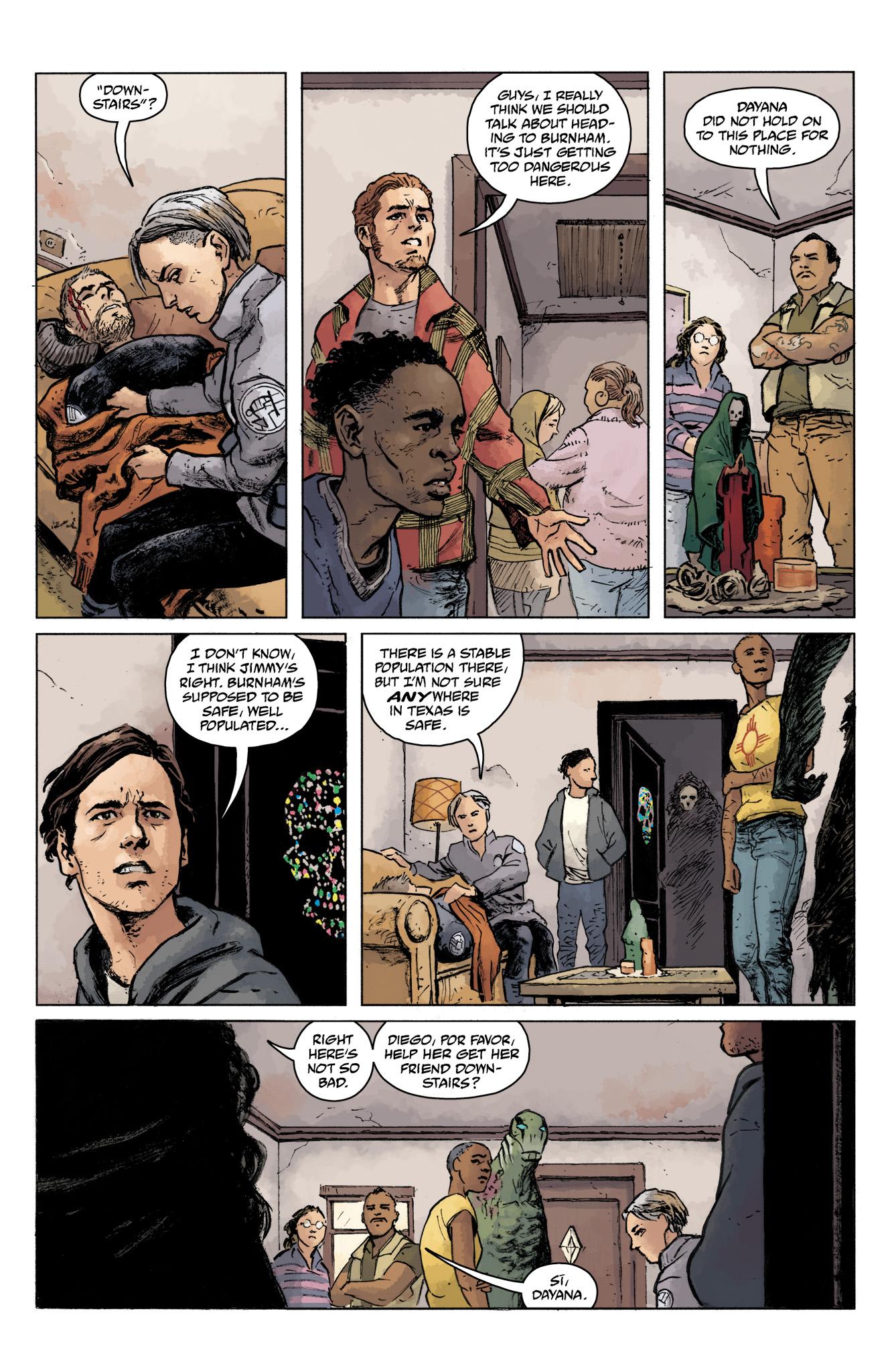 Read online Abe Sapien comic -  Issue #16 - 19