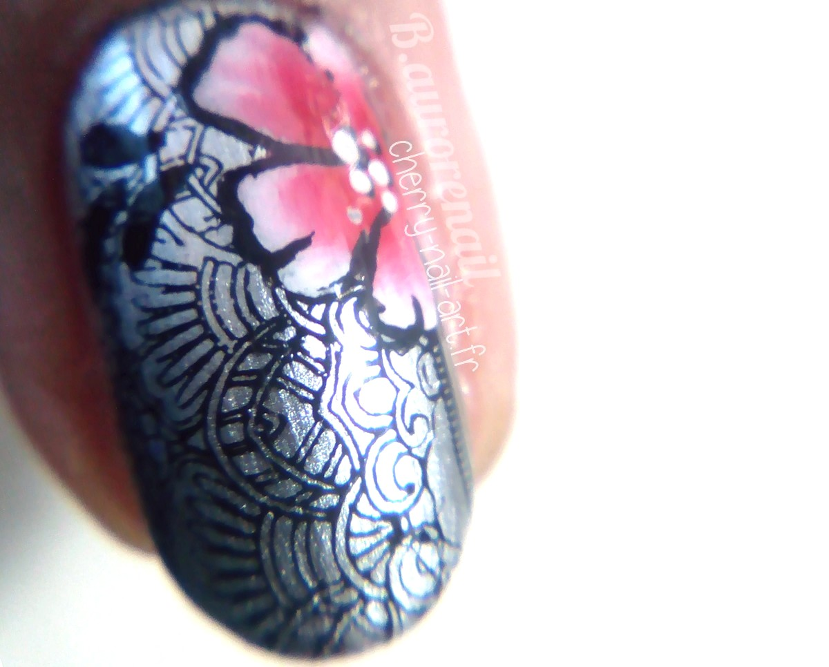nail art plaque de stamping creative shop 12