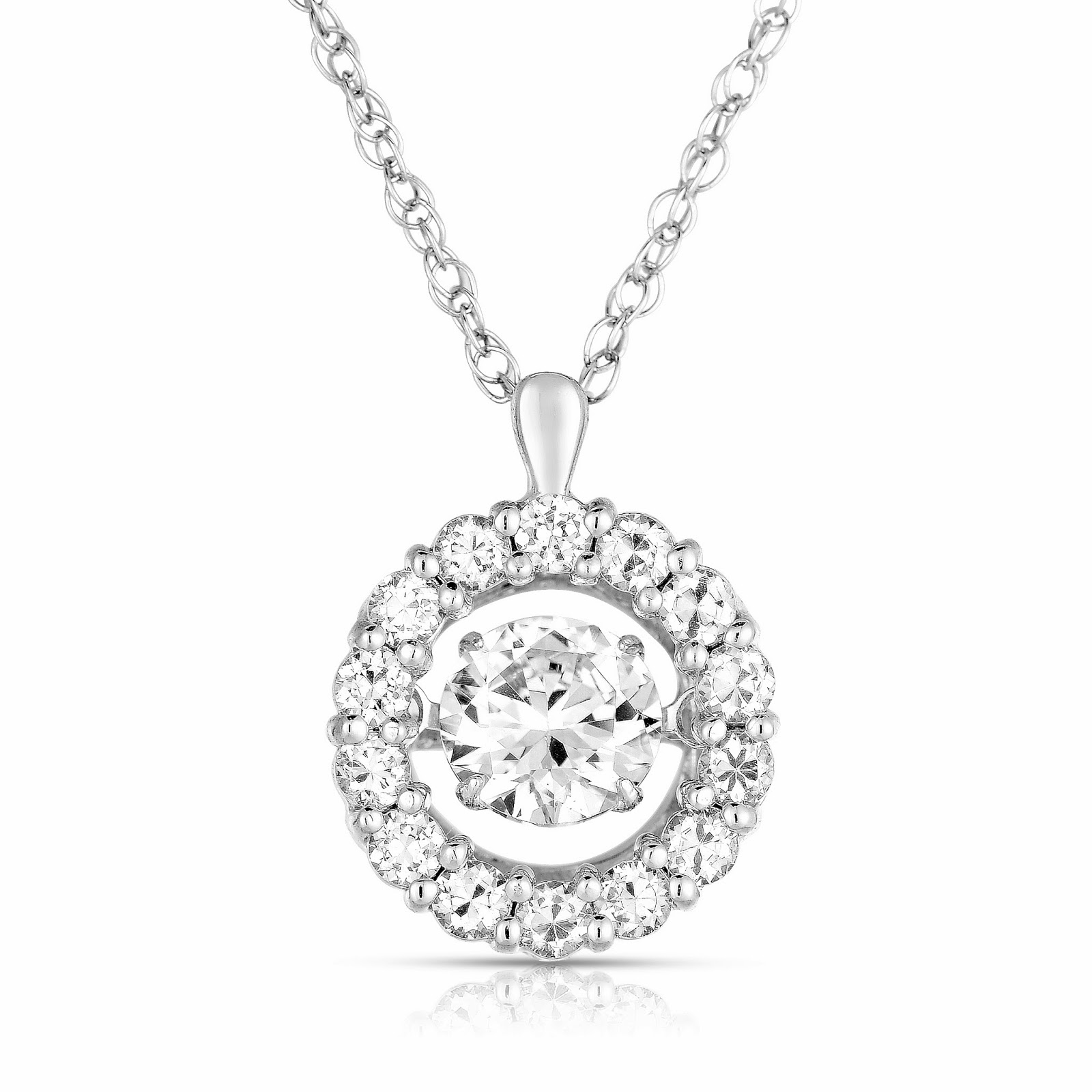 Embody More Light 99 Diamonds In Rhythm Inspired Pendant