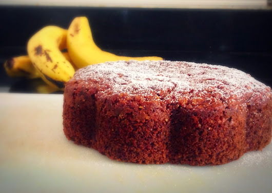 Eggless Wholewheat Banana Oats Cake - Without Oven