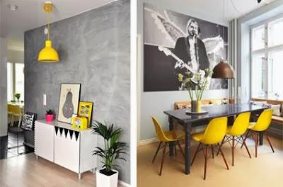 paredes salón gris