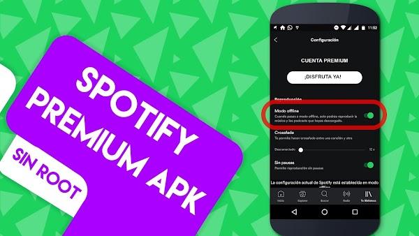 Cómo Tener Spotify Premium + MODO OFFLINE GRATIS 100% LEGAL en Android / Octubre 2017