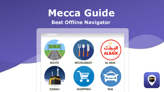 Mecca Guide is a Native City Guide App