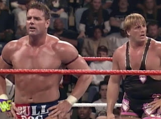 WWF / WWE - In Your House 13: Final Four - Owen Hart & British Bulldog lost to Furnas & LaFon via DQ