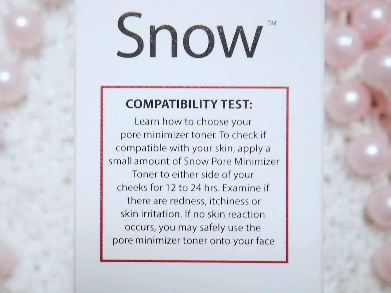Review S Snow Pore Minimizer Toner Pinkislovebynix