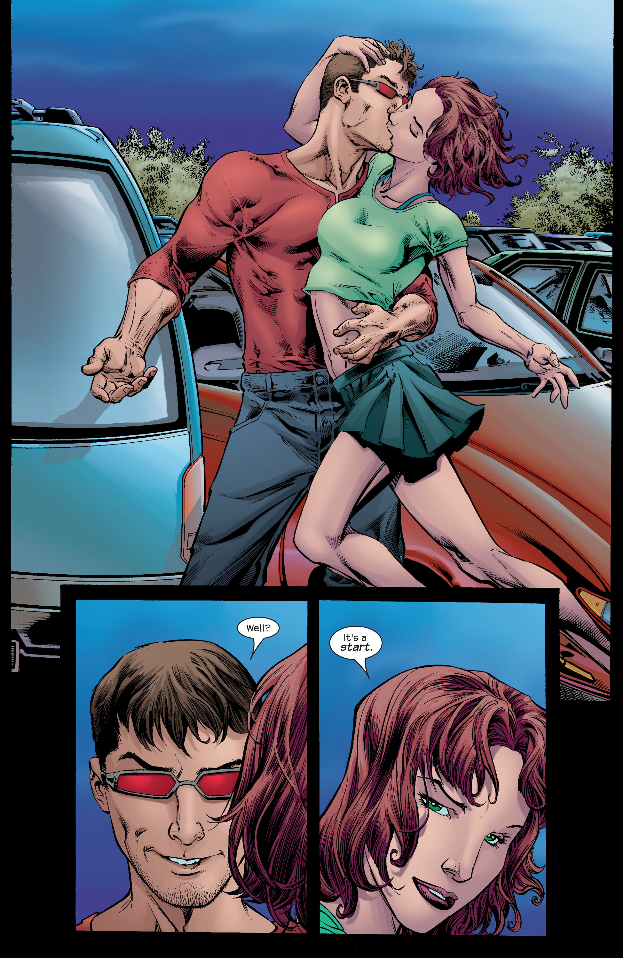 Read online Ultimate X-Men comic -  Issue #66 - 21
