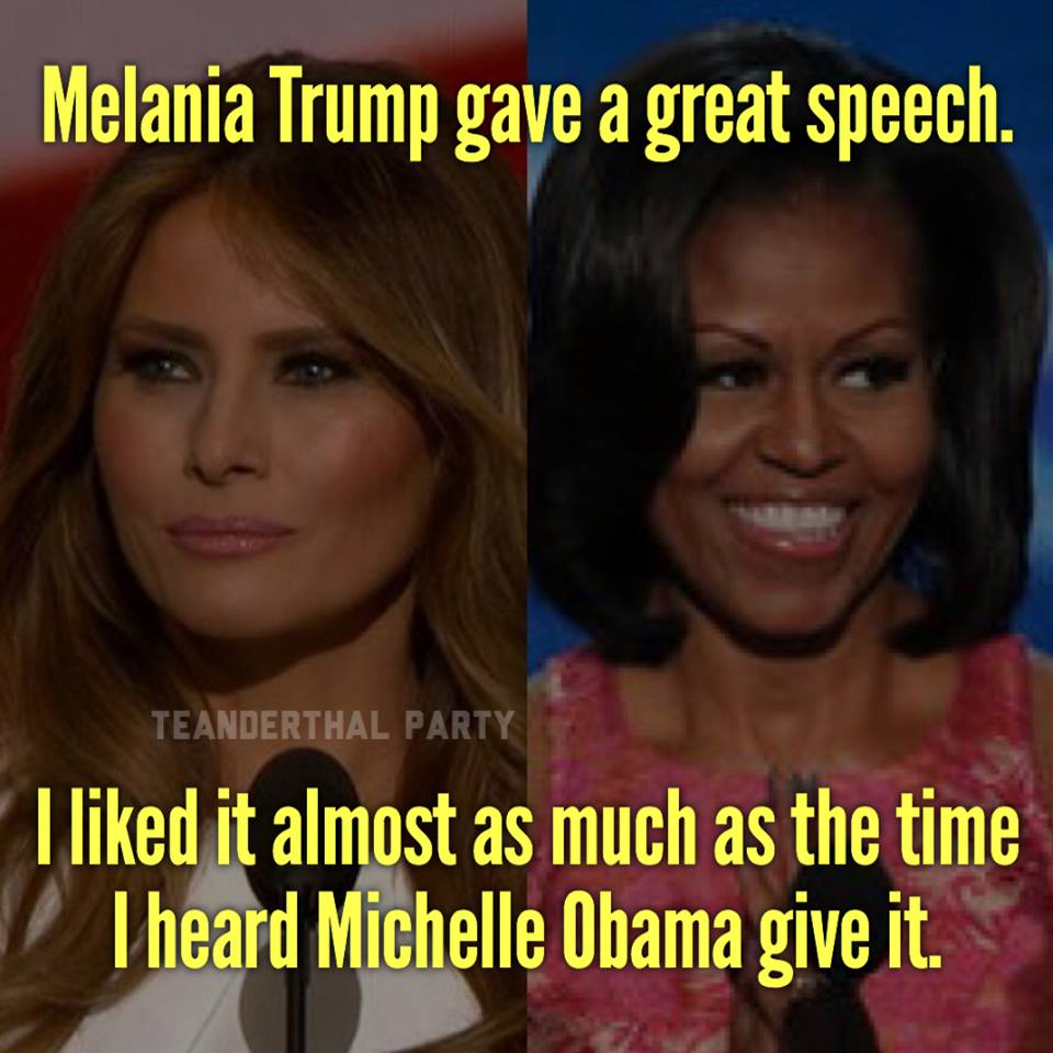 melania%253Amichelle jobsanger ethics doesn't seem to be a trump family value,Trump Family Meme