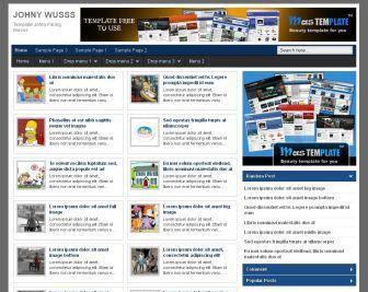 Template Blog Johny Wusss
