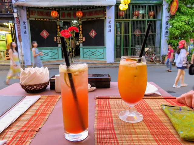 Cocktails in Hoi An Vietnam