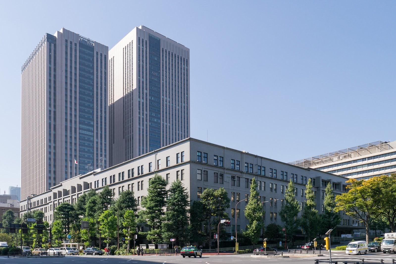 日本の財務省の建物