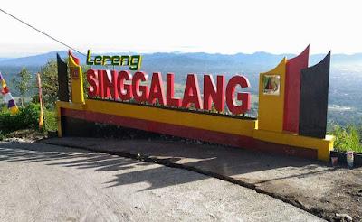 Minang Rancak – Menikmati Indahnya Panorama Lereng Singgalang dari Tugu Krap