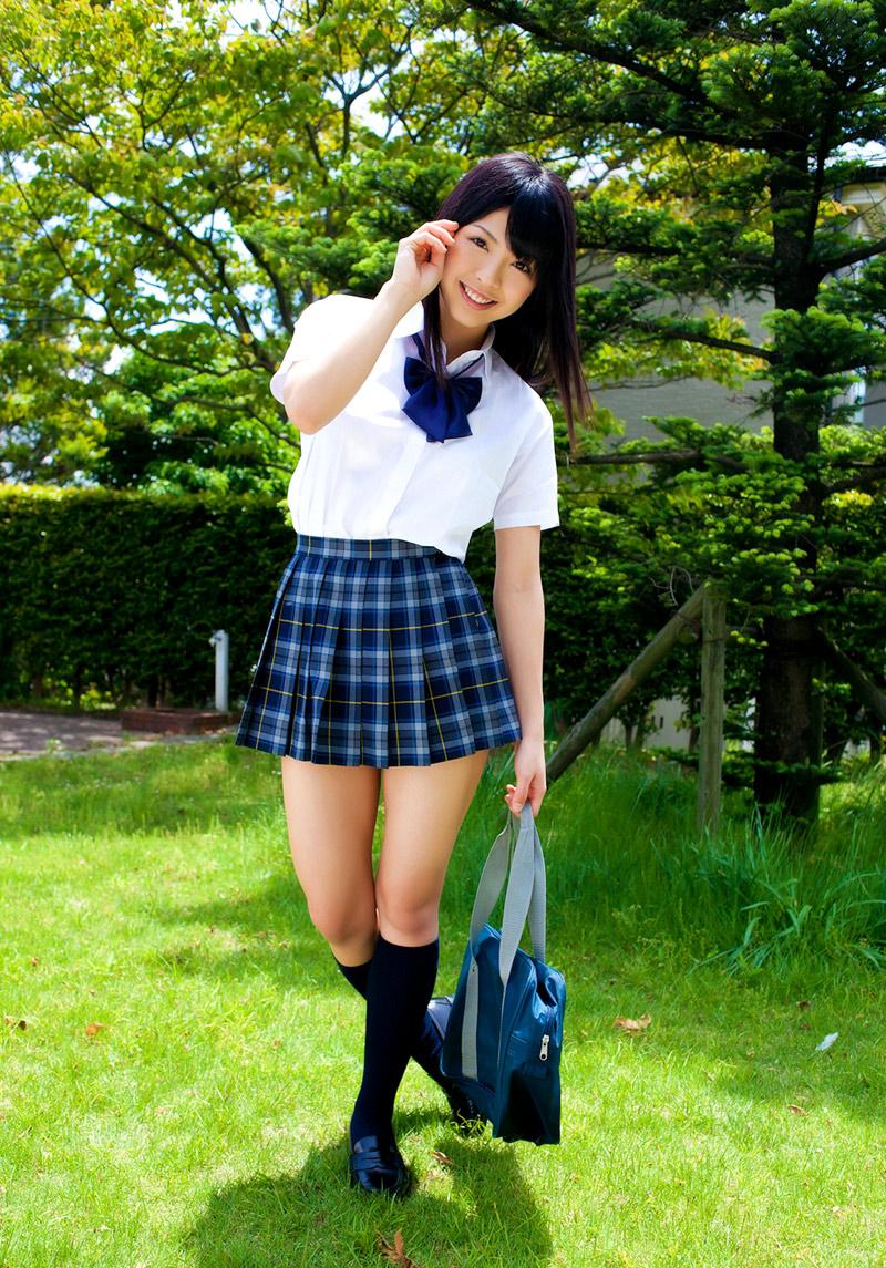 Japanese Schoolgirl Tube Sakura Seto In School Uniform-5194