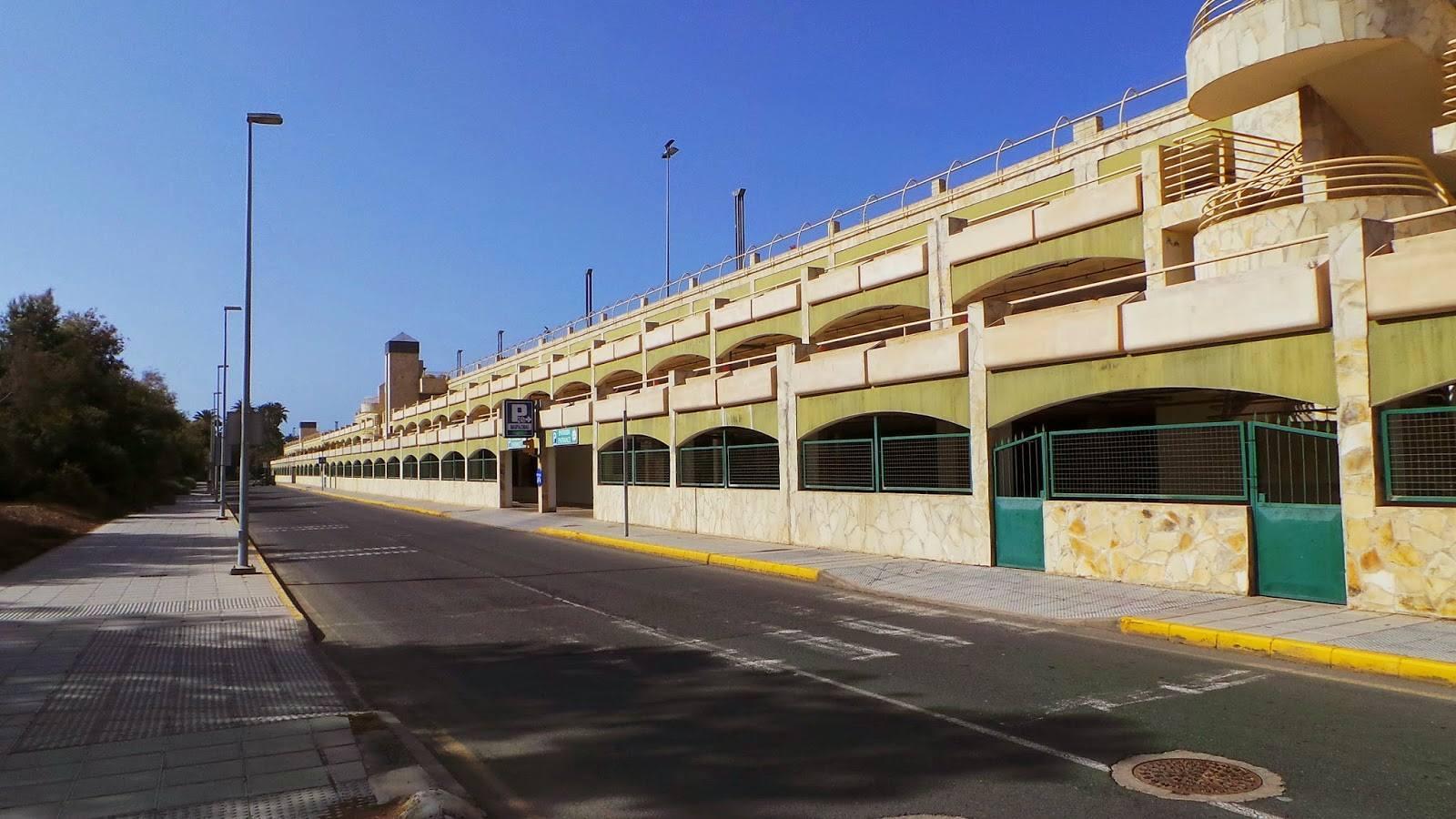 playa maspalomas donde aparcar