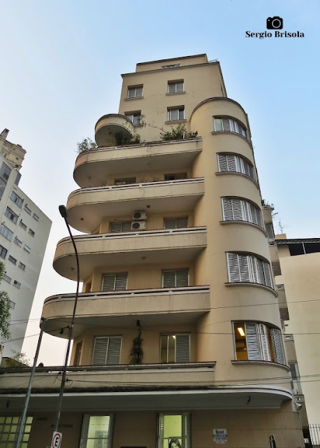 Vista ampla do Edifício Maria Teresa - Santa Cecilia - São Paulo
