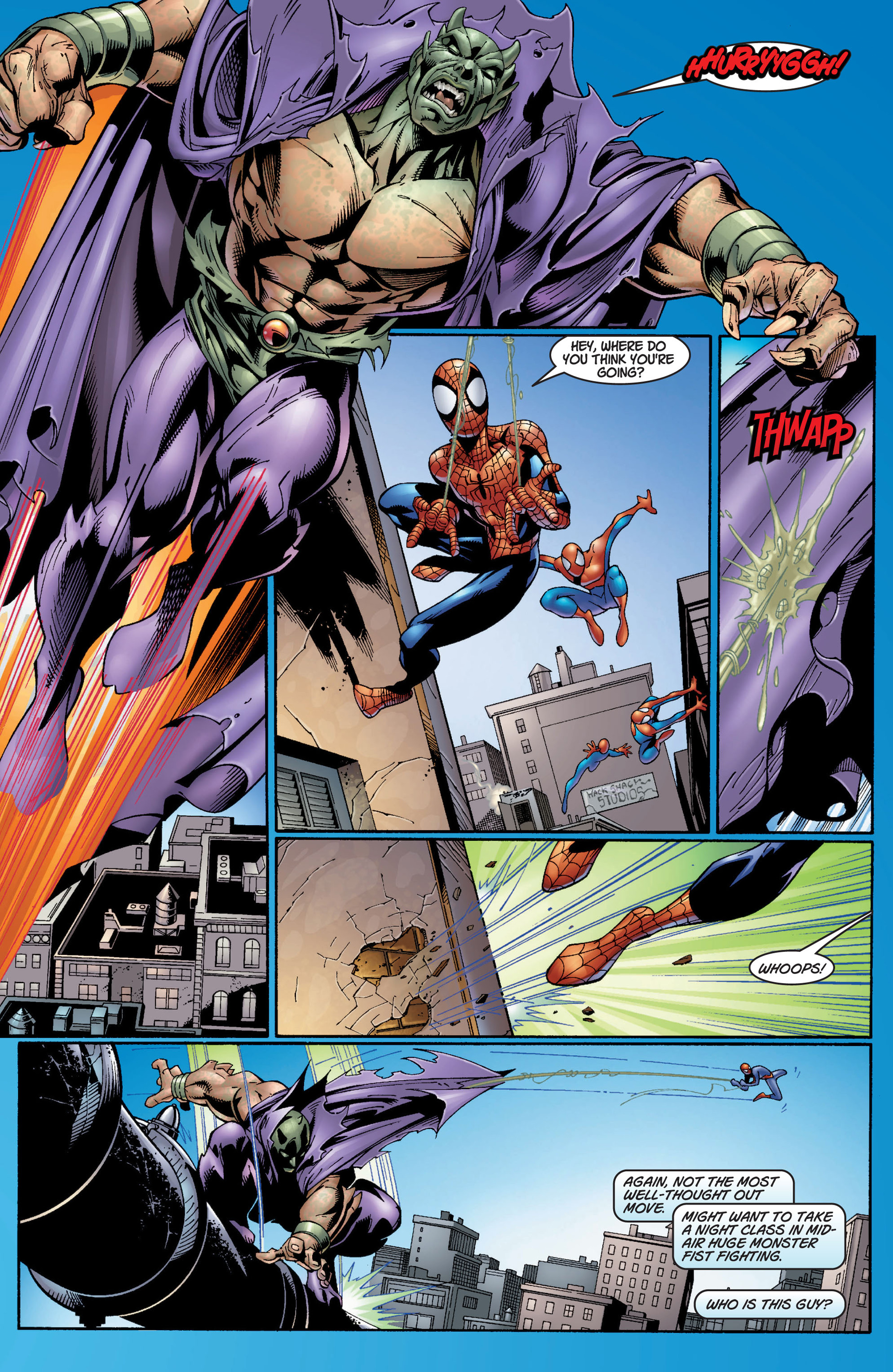 Read online Ultimate Spider-Man (2000) comic -  Issue #7 - 10
