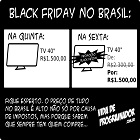 gordo nerd comprando no black friday