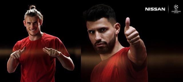 """Gareth Bale y Sergio """"Kun"""" Agüero, nuevos embajadores globales de Nissan"""