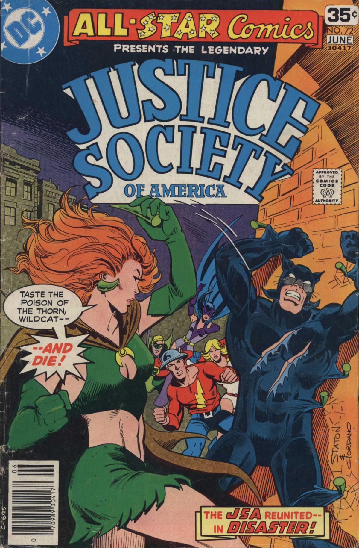 Read online All-Star Comics comic -  Issue #72 - 1
