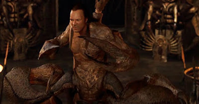 The Rock Scorpion King CGI
