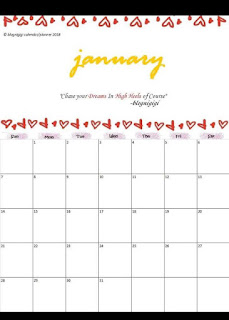 2018, blognigi, blognigigi.com, Career, free calendar, Free Printable Calendar/Planner 2018, philippines, printable calendar ph, share, tag someone who needs it, planner, calendar, ipon calendar, peso sense,