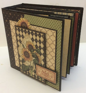 French Country Mini Album and Case Clare Charvill Graphic 45