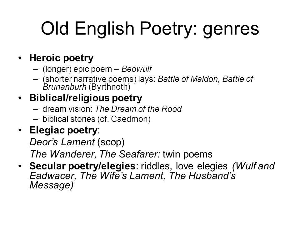 Periods of English Literature