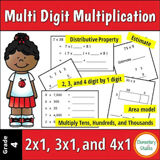 Multi Digit Multiplication