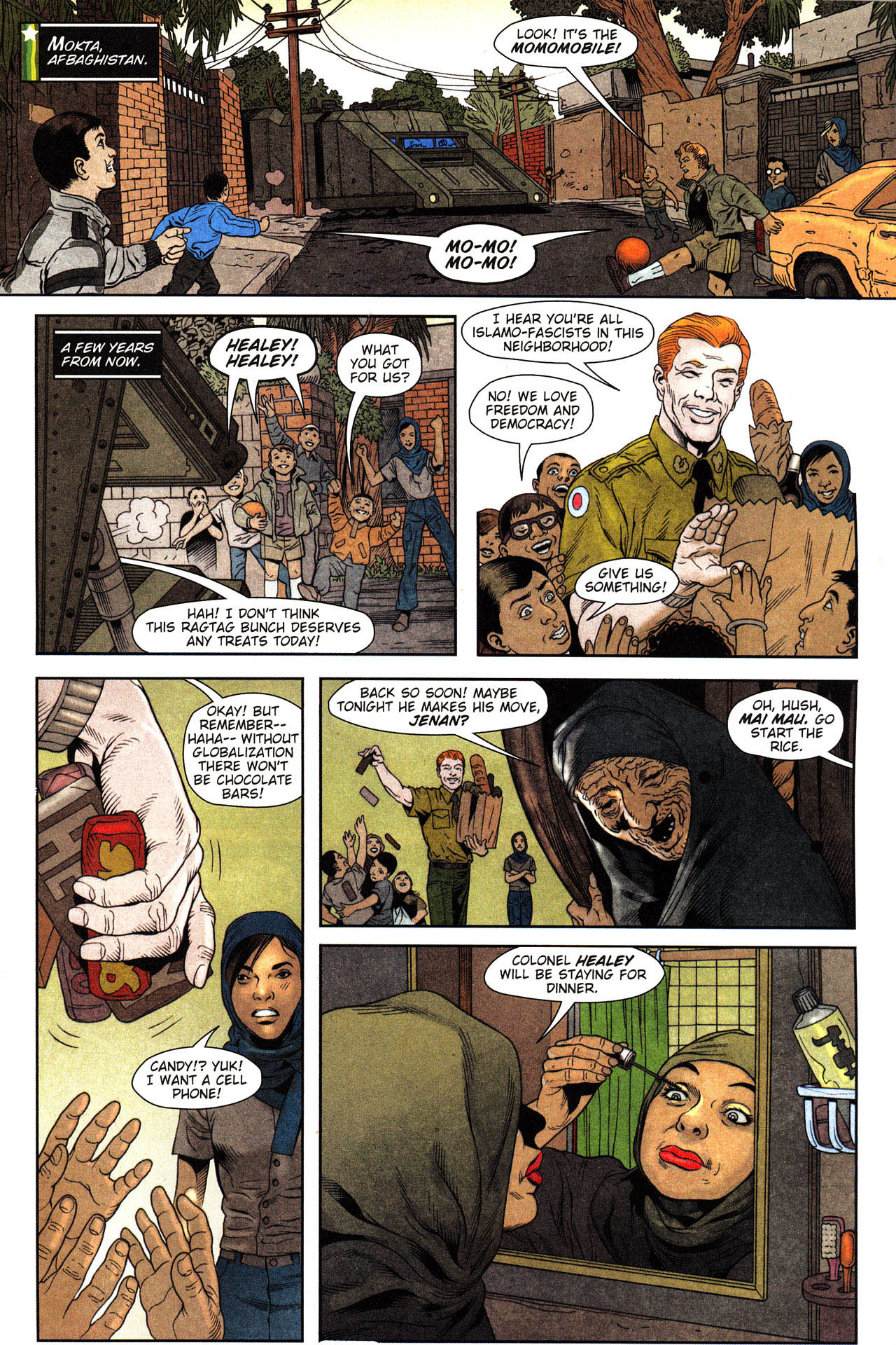 Read online Army @ Love comic -  Issue #2 - 2