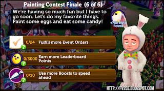 fv2ce, checkmark, yellow easter egg, silver carrot, rabbit costume