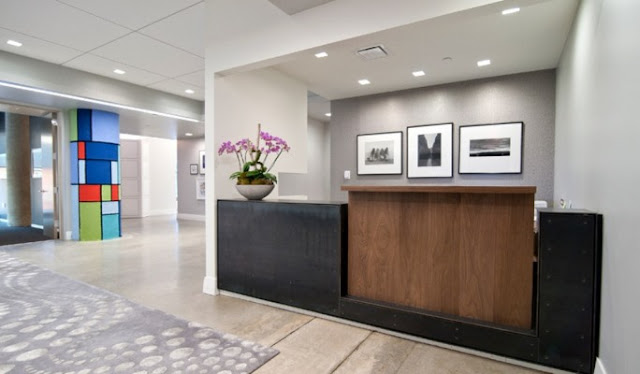 counter design for office