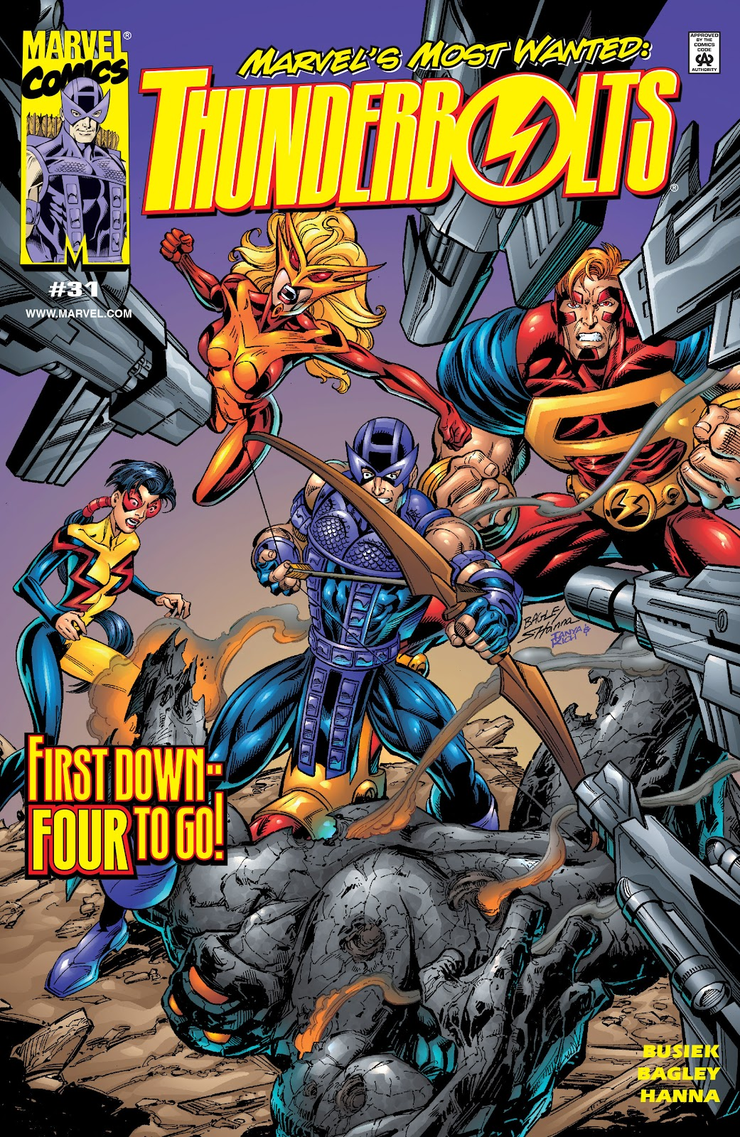 Read online Hawkeye & The Thunderbolts comic -  Issue # TPB 1 (Part 3) - 5