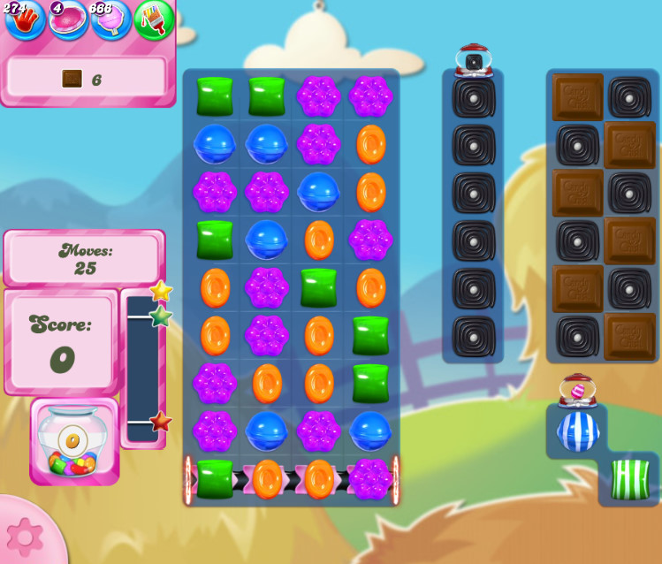 Candy Crush Saga level 2702