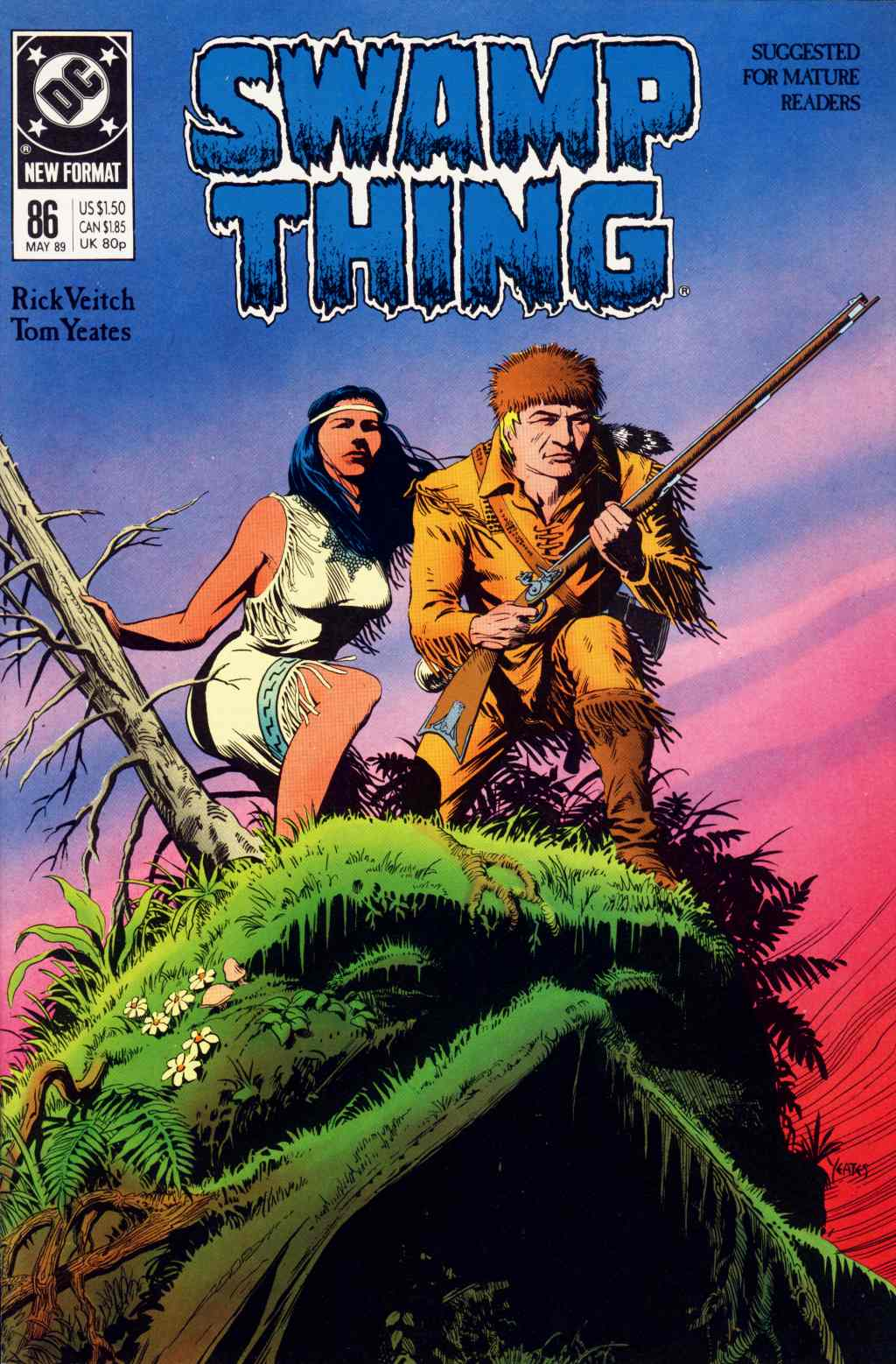 Swamp Thing (1982) Issue #86 #94 - English 1