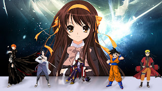 Fond d'écran animé manga