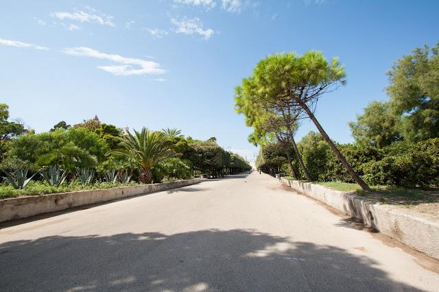 Trani-Villa comunale