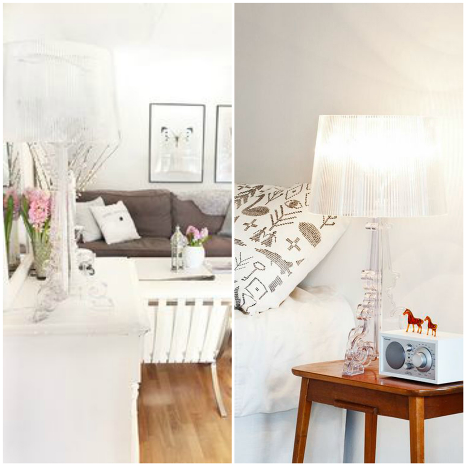 Deco: Bourgie Kartell Lamp