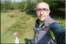 Txintxularra mendiaren gailurra 845 m. - 2018ko maiatzaren 5ean