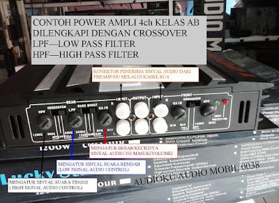 power ampli 4ch kelas AB