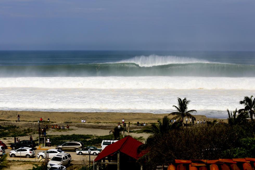 5 Puerto Escondido Empty Wave Puerto Escondido Challenge fotos WSL Bill Sharp