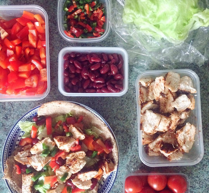 Lean prep - easy, quick meal prep recipes for summer - chicken kebab