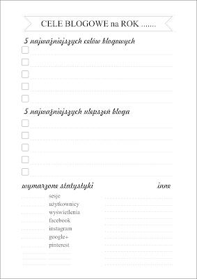 Cele blogowe