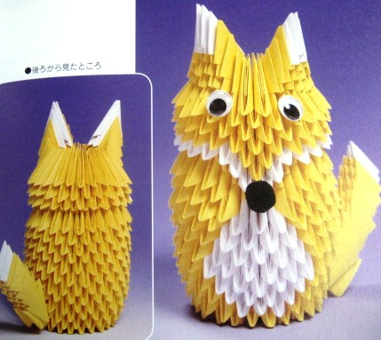 3d origami fox diagram origami maniacs: new 3d origami diagrams for free #7