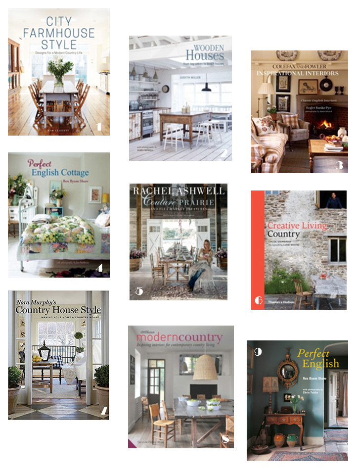 english country cottage interiors style books