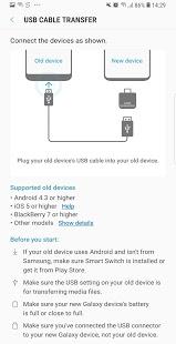 تحميل تطبيق Samsung Smart Switch Mobile لمشاهدة افضل