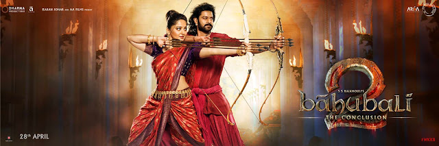 Baahubali 2 : The Conclusion Movie Ticket Offer Flat Rs 100 Cashback